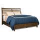 Kincaid Bedford Park Birmingham Upholstered Queen Bed in Hazelnut