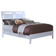 New Classic Selena Queen Sleigh Bed in White