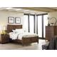 Kincaid Bedford Park Craftsman Bedroom Set in Hazelnut