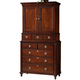 Durham Furniture Brookline Bachelors Chest with Deck 1605-165/166