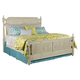 Kincaid Weatherford Westland Queen Poster Bed in Cornsilk