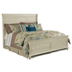 Kincaid Weatherford Shelter Queen Bed in Cornsilk