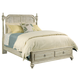 Kincaid Weatherford Westland Queen Storage Poster Bed in Cornsilk