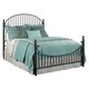 Kincaid Weatherford Catlins Queen Metal Bed in Black