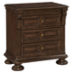 Broyhill Lyla™ Three Drawer Night Stand in Dak Spice 4912-292