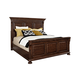 Broyhill Lyla™ King Panel Bed in Dak Spice