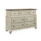 Kincaid Weatherford Wellington Drawer Dresser in Cornsilk 75-162
