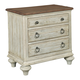 Kincaid Weatherford 3-Drawer Nightstand in Cornsilk 75-141