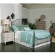 Kincaid Weatherford Catlins Metal Bedroom Set in Cornsilk