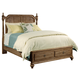 Kincaid Weatherford Westland Queen Storage Poster Bed in Grey Heather