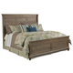Kincaid Weatherford Shelter Queen Bed in Grey Heather