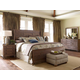 Kincaid Weatherford Shelter Bedroom Set in Grey Heather