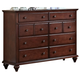 New Classic Spring Creek Dresser in Tobacco 00-146-050