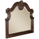 Samuel Lawrence Furniture Monticello Mirror in Warm Mellow Pecan Finish 8264-030