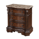 Samuel Lawrence Furniture Monticello Nightstand in Warm Mellow Pecan Finish 8264-050