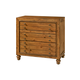Broyhill Bethany Square™ Three Drawer Night Chest in Brown 4930-283