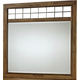 Broyhill Bethany Square™ Landscape Dresser Mirror in Brown 4930-236
