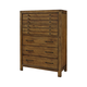 Broyhill Bethany Square™ Six Drawer Chest in Brown 4930-240