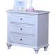 New Classic Megan Nightstand in White 05-242-042