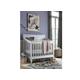 Universal Smartstuff Black & White Crib in Creamy White 437A310