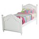 New Classic Megan Twin Youth Bed in White
