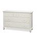 Universal Smartstuff Black & White Drawer Dresser in Creamy White 437A002