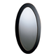Butler Specialty Hand Painted Oval Mirror in Café Noir 0167104