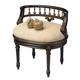 Butler Specialty Vanity Seat in Café Noir 1218104