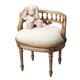 Butler Specialty Vanity Seat in Cream/Gold 1218221
