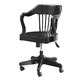 Universal Smartstuff Black & White Young Banker's Chair in Ebony 437B071 CLOSEOUT