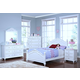 New Classic Megan Panel Bedroom Set in White