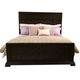 American Drew Casalone Queen Panel Bed in Dark Walnut