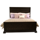 American Drew Casalone King Panel Bed in Dark Walnut