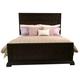 American Drew Casalone California King Panel Bed in Dark Walnut