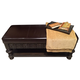 American Drew Casalone Bed Bench in Dark Walnut 410-480