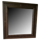 American Drew Park Studio Square Mirror in Dark Walnut 488-030