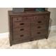 American Drew Park Studio 9-Drawer Dresser in Light Oak 488-131