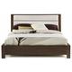 Casana Hudson King Upholstered Platform Bed in Deep Licorice 525-911KK