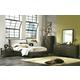 Casana Hudson Upholstered Platform Bedroom Set in Deep Licorice