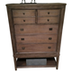 American Drew Park Studio Drawer Chest in Light Oak 488-215