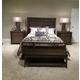 American Drew Park Studio Panel Bedroom Set in Light Oak