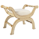 Butler Specialty Bench in Cream/Gold 2609221