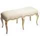 Butler Specialty Bench in Cream/Gold 2902221
