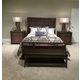 American Drew Park Studio Storage Panel Bedroom Set in Light Oak