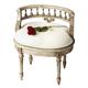 Butler Specialty Vanity Seat in Guilded Cream 1218238