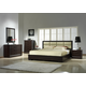 J&M Boston Java Platform Bedroom Set in Espresso