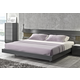 J&M Braga King Platform Bed in Grey Lacquer 178671-K