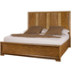 American Drew Grove Point Queen Raffia Panel Bed in Sand 314-313R