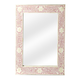 Butler Specialty Bone Inlay Vertical Wall Mirror in Heritage Pink 3221070