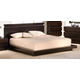 J&M Knotch Queen Panel Bed in Expresso 1754426-Q